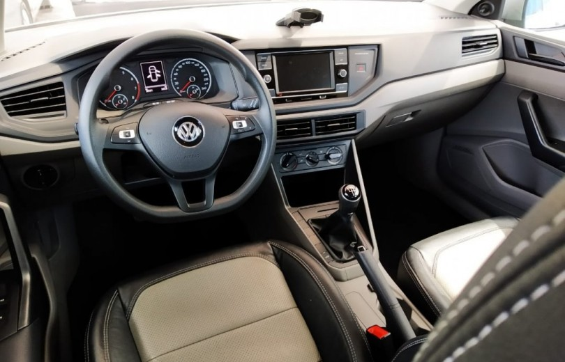 VOLKSWAGEN POLO 2018 1.0 MSI TOTAL FLEX MANUAL - Carango 86441 - Foto 6