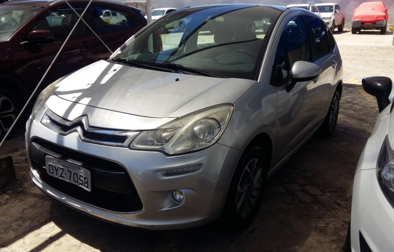 CITROËN C3 2015  1.6 EXCLUSIVE 8V FLEX 4P MANUAL - Carango 86702 - Foto 1
