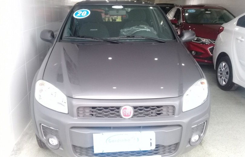 FIAT STRADA 2020 1.4 MPI FREEDOM CD 8V FLEX 3P MANUAL - Carango 86896 - Foto 2