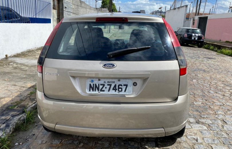 FORD FIESTA 2011 1.0 MPI 8V FLEX 4P MANUAL - Carango 86614 - Foto 4
