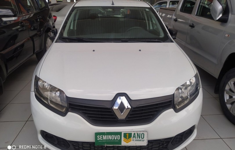 RENAULT SANDERO 2016  1.0 AUTHENTIQUE 4P FLEX  MANUAL  - Carango 86535 - Foto 2