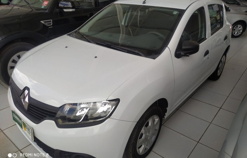 RENAULT SANDERO 2016  1.0 AUTHENTIQUE 4P FLEX  MANUAL  - Carango 86535 - Foto 1