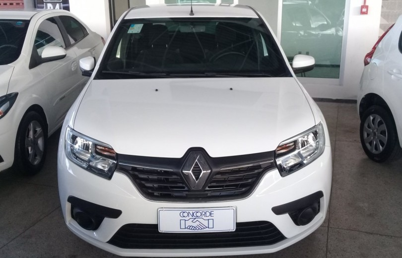 RENAULT SANDERO 2020  1.0 AUTHENTIQUE 4P FLEX  MANUAL  - Carango 87034 - Foto 2
