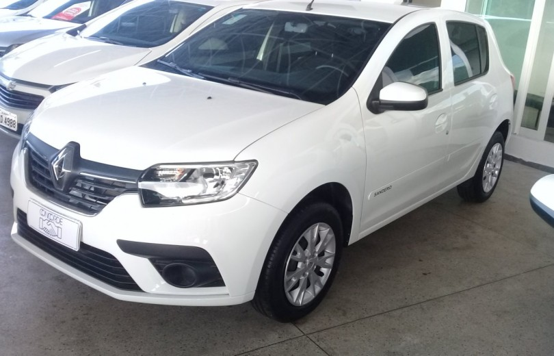 RENAULT SANDERO 2020  1.0 AUTHENTIQUE 4P FLEX  MANUAL  - Carango 87034 - Foto 1