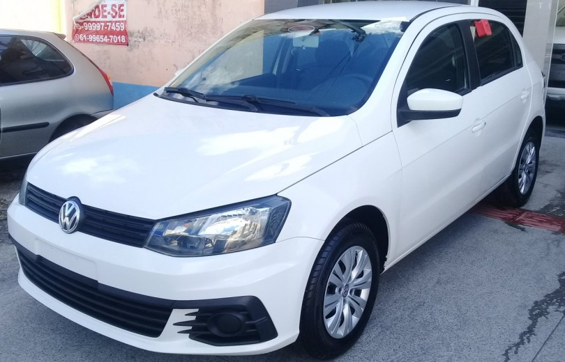 VOLKSWAGEN GOL 2017 1.0 MI CITY 8V TOTAL FLEX 4P MANUAL G.VI - Carango 86802 - Foto 1