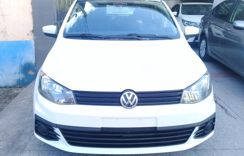VOLKSWAGEN GOL 2017 1.0 MI CITY 8V TOTAL FLEX 4P MANUAL G.VI - Carango 86802 - Foto 2