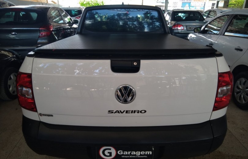 VOLKSWAGEN SAVEIRO 2016 1.6 TRENDLINE CS TOTAL FLEX 8V  MANUAL - Carango 86600 - Foto 4