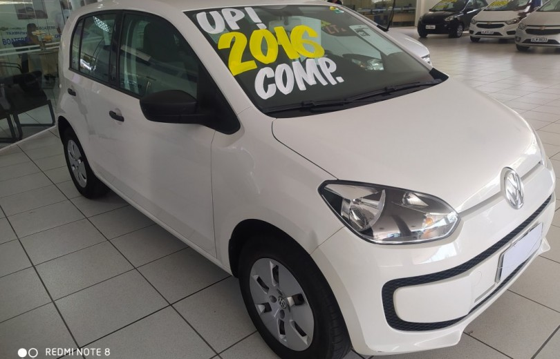 VOLKSWAGEN UP! 2016 1.0 MPI MOVE UP 12V FLEX 4P MANUAL - Carango 86639 - Foto 3