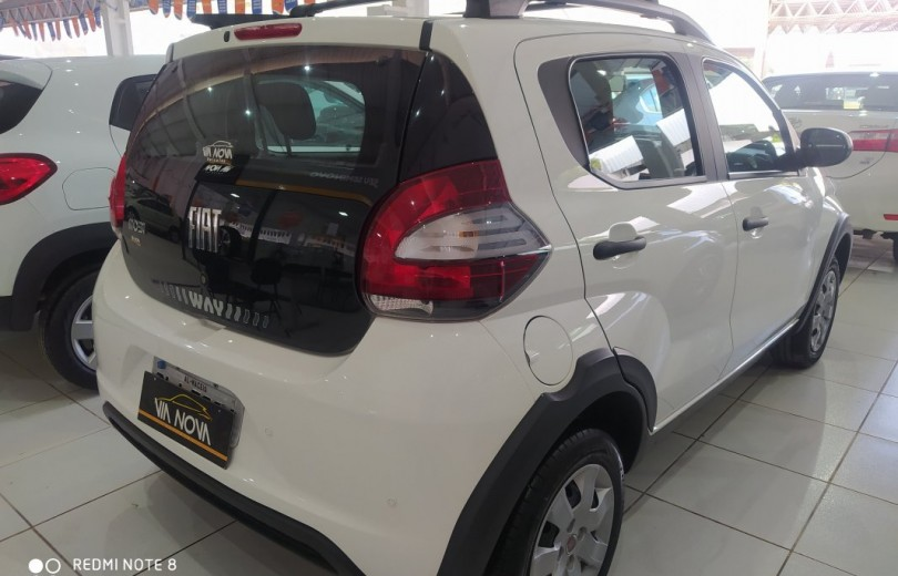 FIAT MOBI 2018 1.0 8V  FLEX WAY MANUAL - Carango 87239 - Foto 3