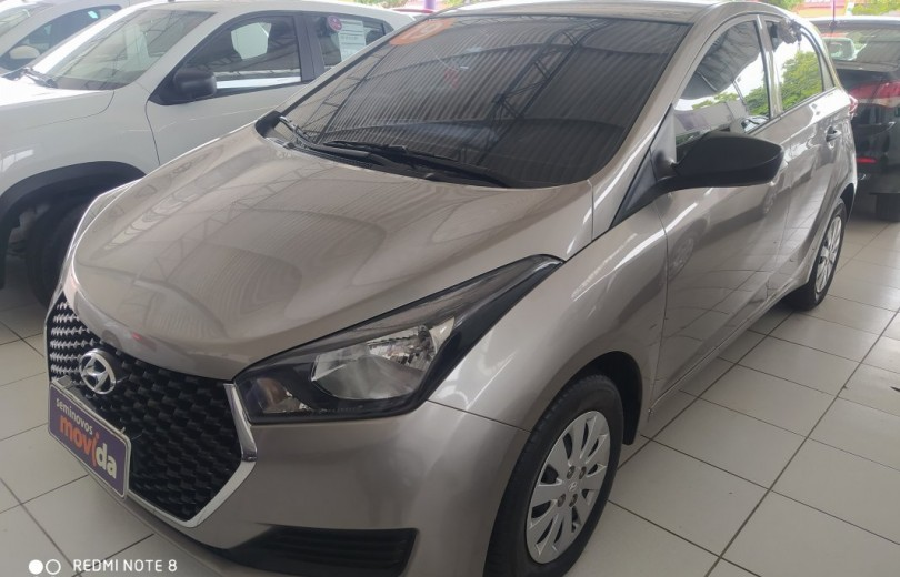 HYUNDAI HB20 2019  1.0 UNIQUE 12V FLEX 4P MANUAL - Carango 87410 - Foto 1