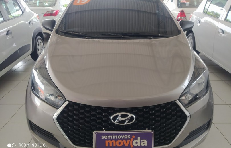 HYUNDAI HB20 2019  1.0 UNIQUE 12V FLEX 4P MANUAL - Carango 87410 - Foto 2