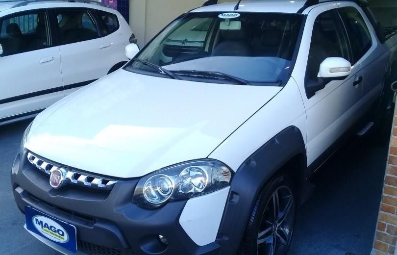 FIAT STRADA 2014 1.8 MPI ADVENTURE CD 16V FLEX 3P MANUAL - Carango 88090 - Foto 1