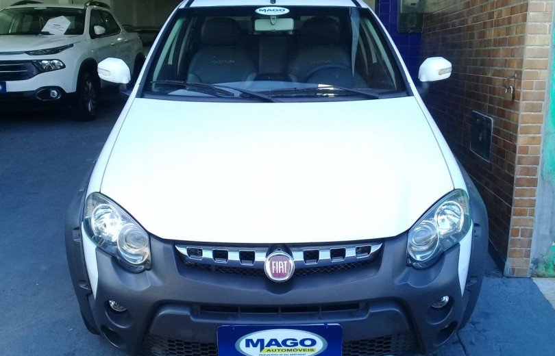 FIAT STRADA 2014 1.8 MPI ADVENTURE CD 16V FLEX 3P MANUAL - Carango 88090 - Foto 2