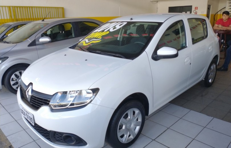 RENAULT SANDERO 2019  1.0 AUTHENTIQUE 4P FLEX  MANUAL  - Carango 88755 - Foto 1