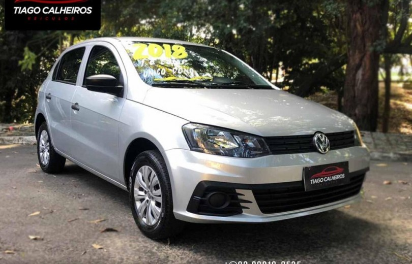 VOLKSWAGEN GOL 2018 1.0 12V MPI TOTALFLEX CITY 4P MANUAL - Carango 88655 - Foto 3