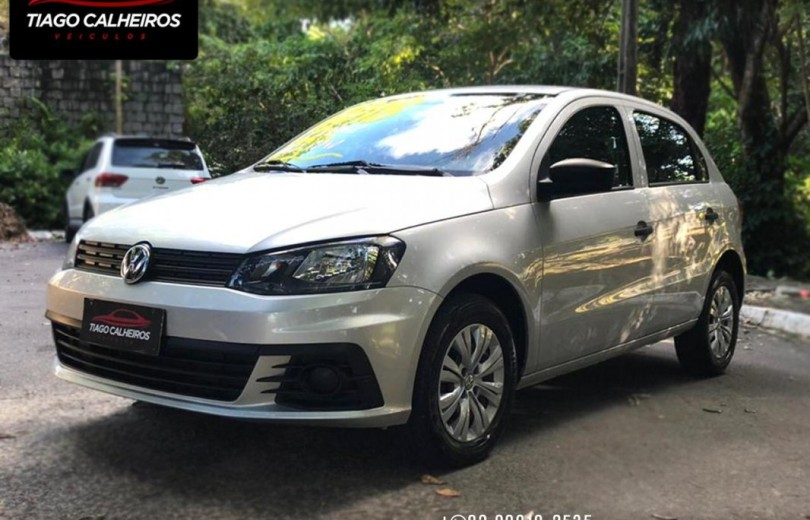 VOLKSWAGEN GOL 2018 1.0 12V MPI TOTALFLEX CITY 4P MANUAL - Carango 88655 - Foto 1