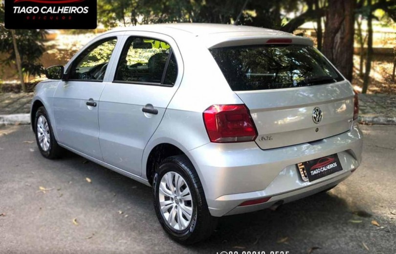 VOLKSWAGEN GOL 2018 1.0 12V MPI TOTALFLEX CITY 4P MANUAL - Carango 88655 - Foto 5