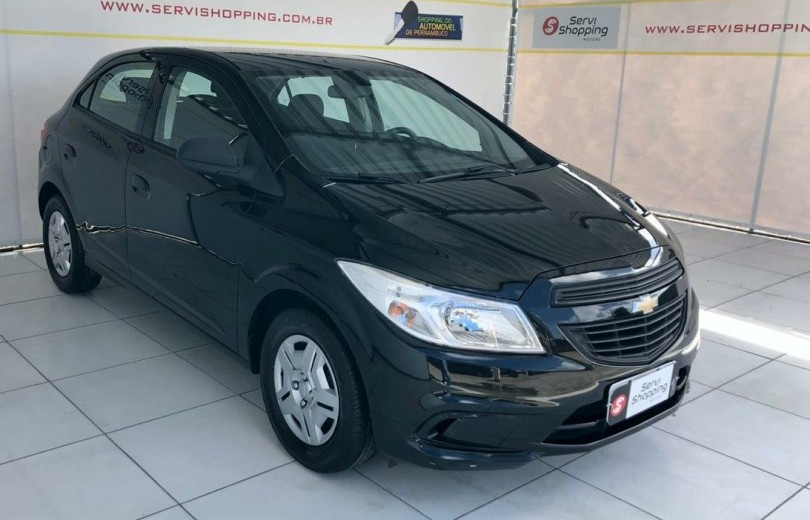CHEVROLET ONIX 2018 1.0 MPFI JOY 8V FLEX 4P MANUAL - Carango 89212 - Foto 1