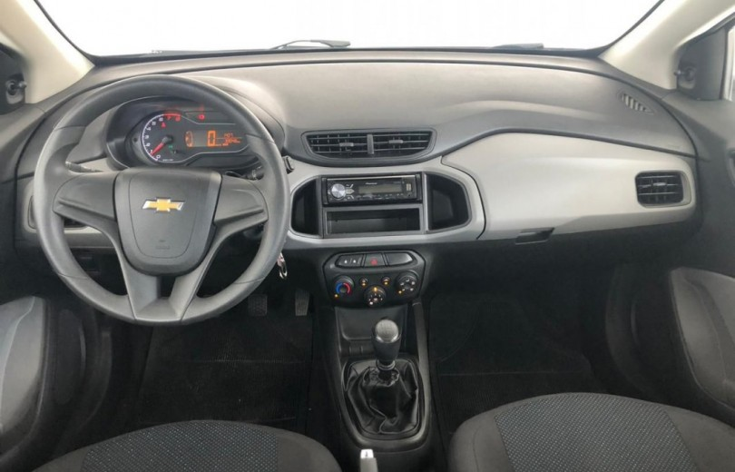 CHEVROLET ONIX 2018 1.0 MPFI JOY 8V FLEX 4P MANUAL - Carango 89212 - Foto 6