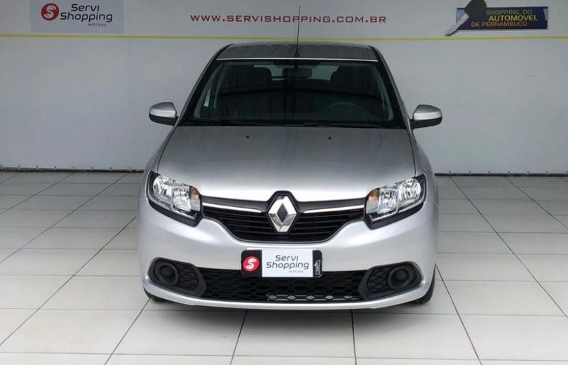 RENAULT SANDERO 2020  1.0 AUTHENTIQUE 4P FLEX  MANUAL  - Carango 89147 - Foto 2
