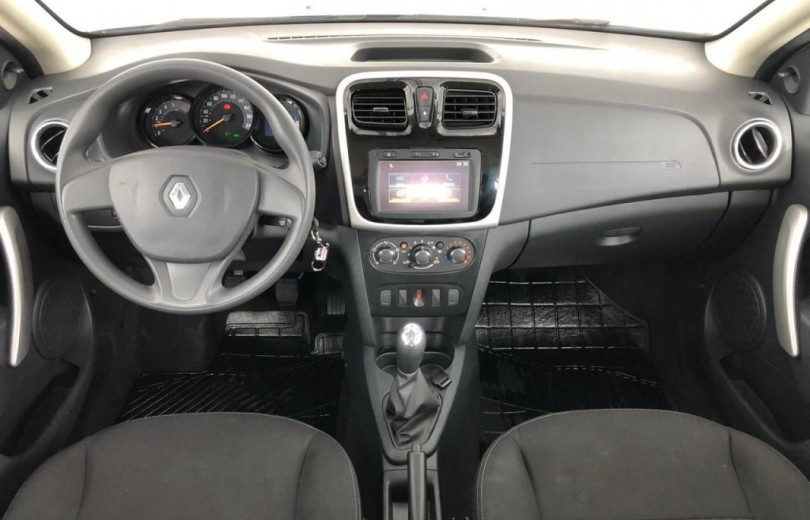 RENAULT SANDERO 2020  1.0 AUTHENTIQUE 4P FLEX  MANUAL  - Carango 89147 - Foto 6