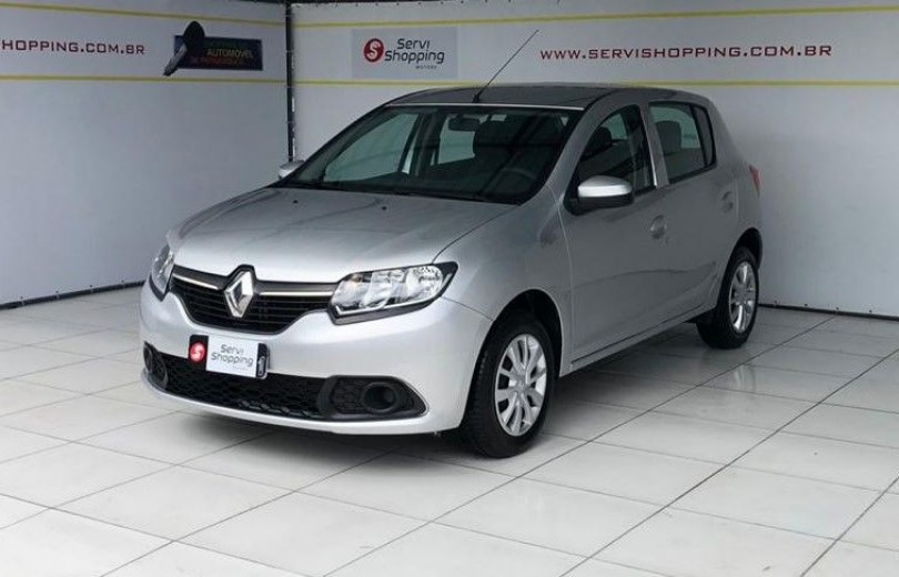 RENAULT SANDERO 2020  1.0 AUTHENTIQUE 4P FLEX  MANUAL  - Carango 89147 - Foto 1
