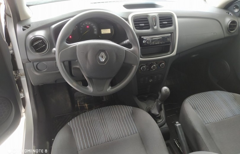 RENAULT SANDERO 2020  1.0 AUTHENTIQUE 4P FLEX  MANUAL  - Carango 89472 - Foto 6