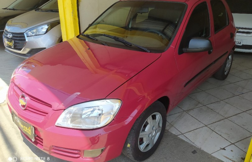 CHEVROLET CELTA 2010 1.0 MPFI SPIRIT 8V FLEXPOWER 4P MANUAL - Carango 90126 - Foto 5