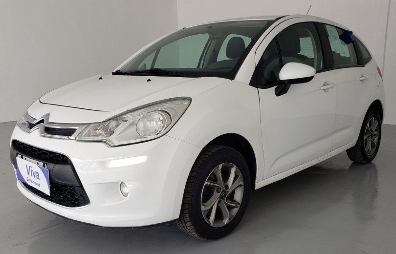 CITROËN C3 2016 1.5 ATTRACTION 8V FLEX 4P MANUAL  - Carango 90387 - Foto 1