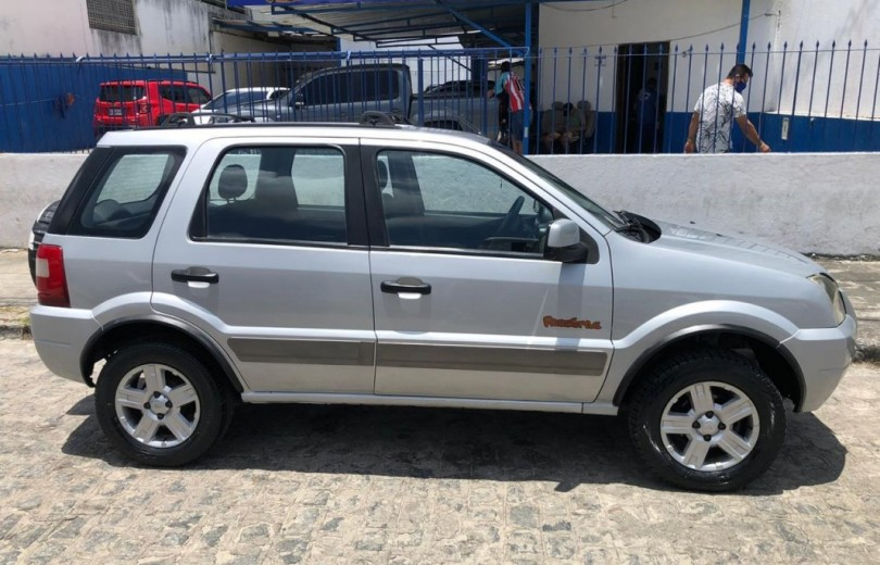 FORD ECOSPORT 2007 1.6 XLT FREESTYLE 8V FLEX 4P MANUAL - Carango 90571 - Foto 8