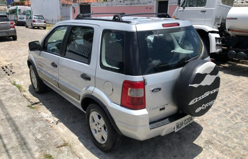 FORD ECOSPORT 2007 1.6 XLT FREESTYLE 8V FLEX 4P MANUAL - Carango 90571 - Foto 3