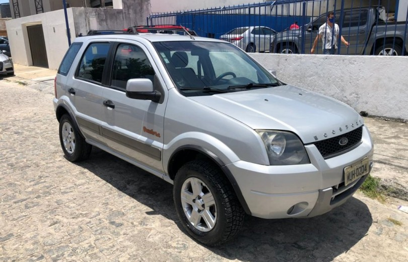 FORD ECOSPORT 2007 1.6 XLT FREESTYLE 8V FLEX 4P MANUAL - Carango 90571 - Foto 9