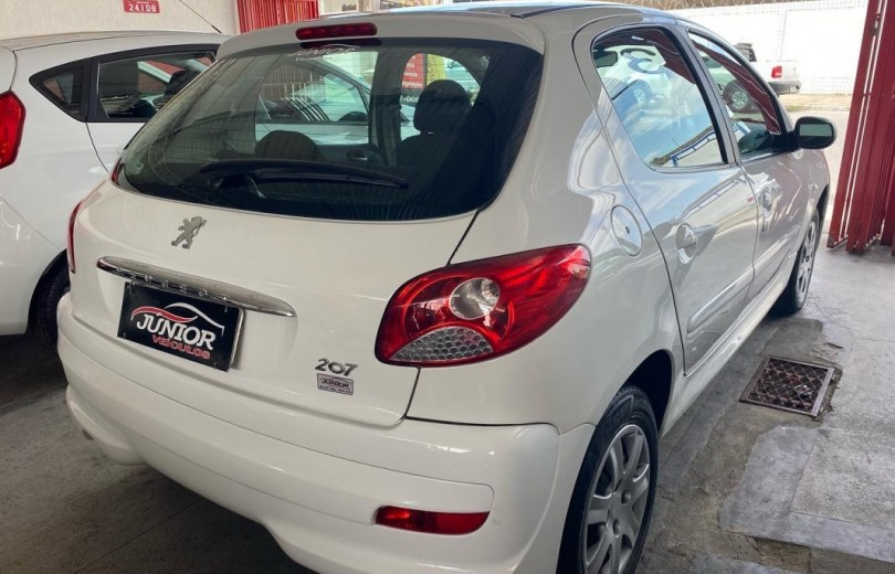 PEUGEOT 207 2013 1.4 XR 8V FLEX 4P MANUAL - Carango 90764 - Foto 3