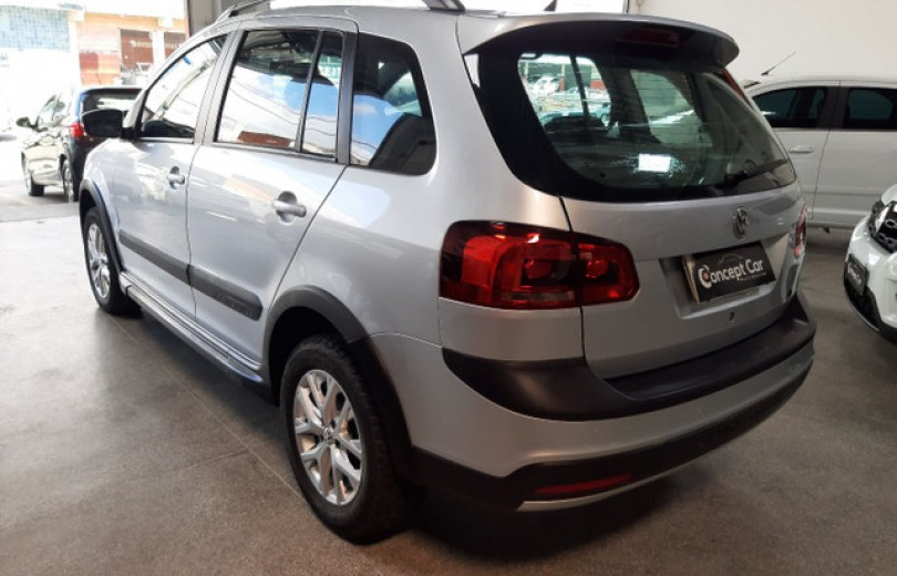 VOLKSWAGEN SPACE CROSS 2014 1.6 MI 16V FLEX 4P MANUAL - Carango 91534 - Foto 4