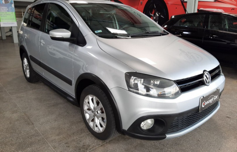VOLKSWAGEN SPACE CROSS 2014 1.6 MI 16V FLEX 4P MANUAL - Carango 91534 - Foto 2