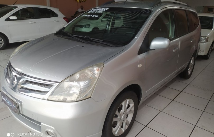 NISSAN GRAND LIVINA 2013 1.8 S 16V FLEX 4P MANUAL - Carango 92348 - Foto 1