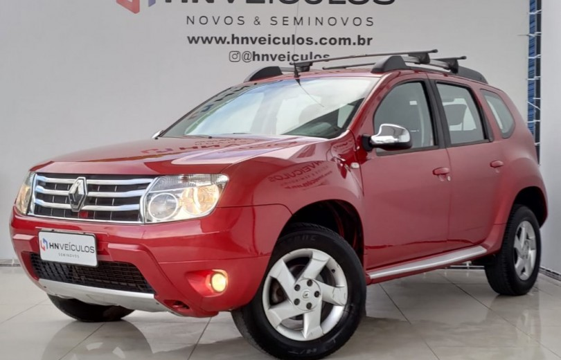 RENAULT DUSTER 2014 1.6 DYNAMIQUE 4X2 16V FLEX 4P MANUAL - Carango 92687 - Foto 9