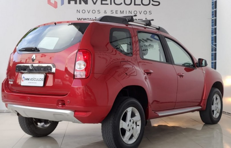 RENAULT DUSTER 2014 1.6 DYNAMIQUE 4X2 16V FLEX 4P MANUAL - Carango 92687 - Foto 4