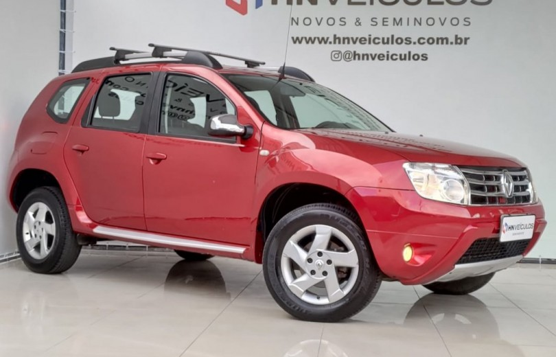 RENAULT DUSTER 2014 1.6 DYNAMIQUE 4X2 16V FLEX 4P MANUAL - Carango 92687 - Foto 1