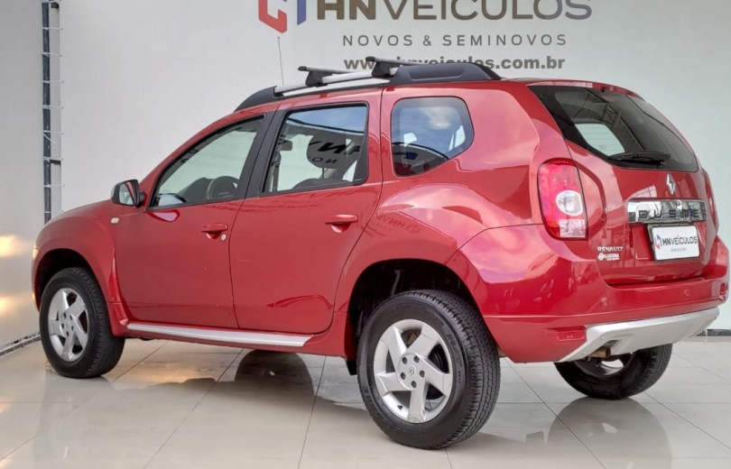 RENAULT DUSTER 2014 1.6 DYNAMIQUE 4X2 16V FLEX 4P MANUAL - Carango 92687 - Foto 3