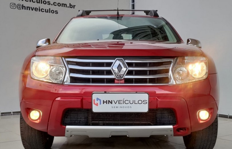 RENAULT DUSTER 2014 1.6 DYNAMIQUE 4X2 16V FLEX 4P MANUAL - Carango 92687 - Foto 10