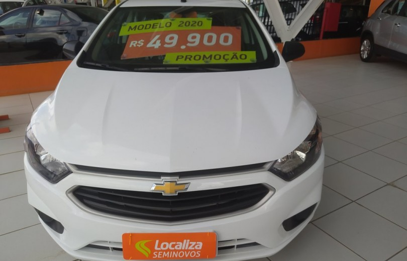 CHEVROLET ONIX 2020 1.0 MPFI JOY 8V FLEX 4P MANUAL - Carango 93181 - Foto 2