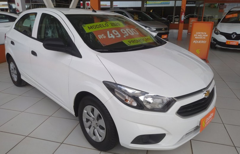 CHEVROLET ONIX 2020 1.0 MPFI JOY 8V FLEX 4P MANUAL - Carango 93181 - Foto 5