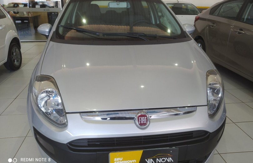 FIAT PUNTO 2013 1.4 ATTRACTIVE 8V FLEX 4P MANUAL - Carango 93272 - Foto 2
