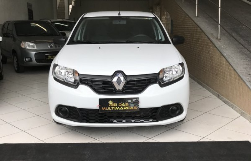 RENAULT SANDERO 2018  1.0 AUTHENTIQUE 4P FLEX  MANUAL  - Carango 93431 - Foto 2