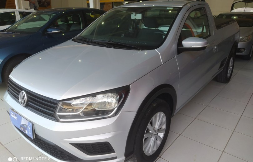 VOLKSWAGEN SAVEIRO 2017 1.6 TRENDLINE CS TOTAL FLEX 8V  MANUAL - Carango 93243 - Foto 1