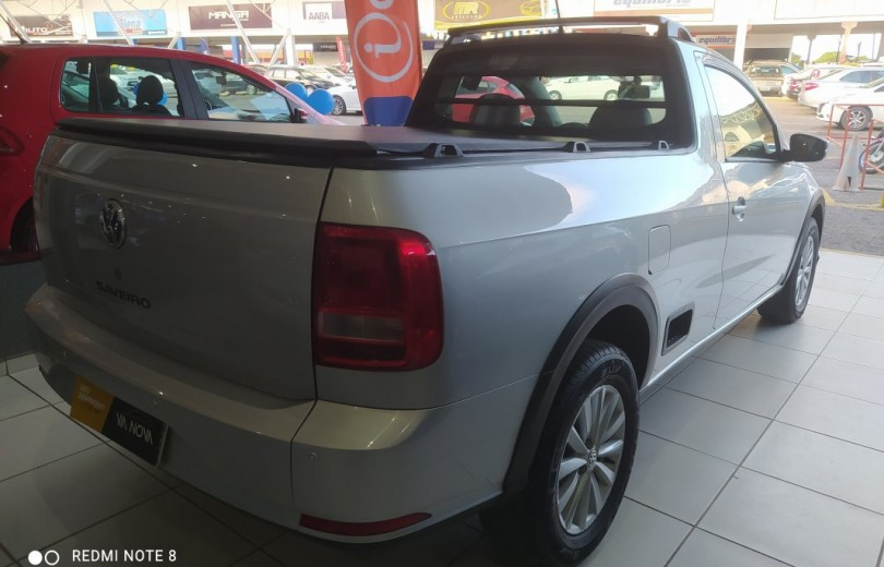 VOLKSWAGEN SAVEIRO 2017 1.6 TRENDLINE CS TOTAL FLEX 8V  MANUAL - Carango 93243 - Foto 3