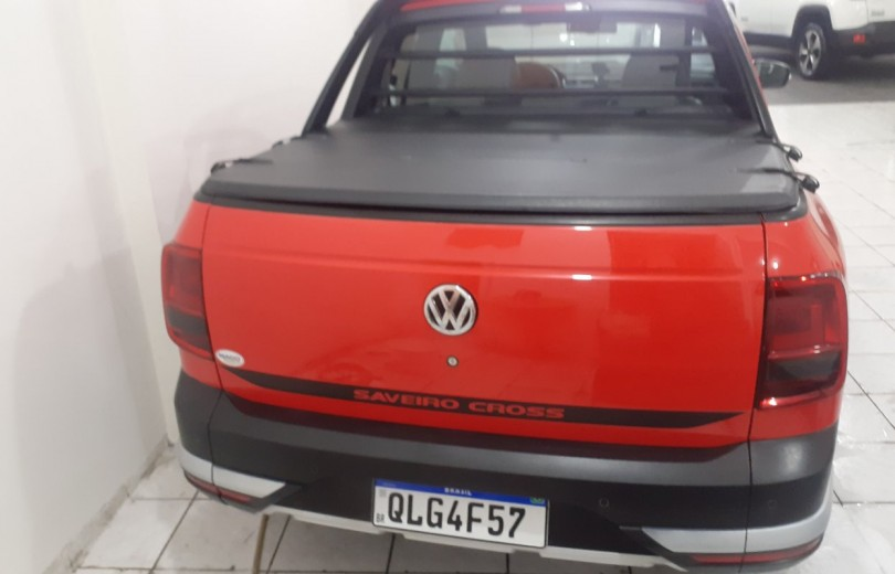VOLKSWAGEN SAVEIRO 2018 1.6 CROSS CD 16V FLEX 2P MANUAL - Carango 93285 - Foto 4