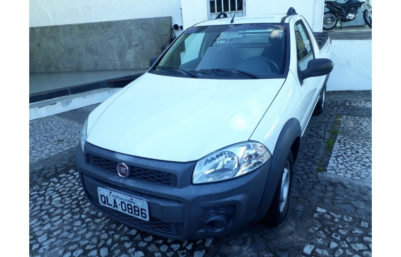 FIAT STRADA 2016 1.4 MPI WORKING CD 8V FLEX 2P MANUAL - Carango 66510 - Foto 10