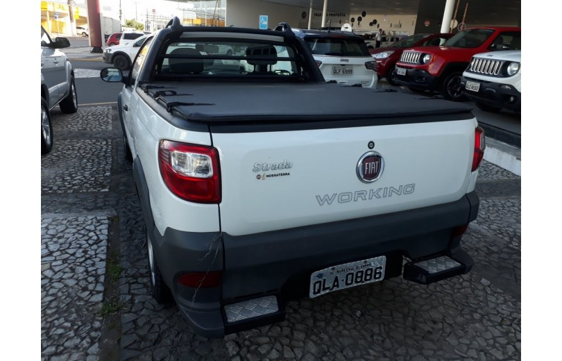 FIAT STRADA 2016 1.4 MPI WORKING CD 8V FLEX 2P MANUAL - Carango 66510 - Foto 4